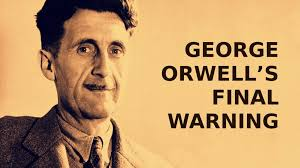 orwell boot george orwell a warning peace for earth peace for ourselves