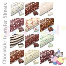 edible transfer sheets for chocolate 28 images 25sheets 1pack