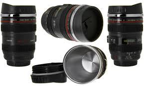 Coolest Coffe Mugs Camera Lens Mug 12 Ounce Stainless Steel Coffee Mug Looks Like A