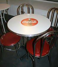 coca cola table and chairs 95 best 23 coke tables chairs images on pinterest vintage coca