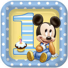 mickey mouse 1st birthday boo teek mickey mouse 1st birthday party plates party