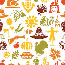 thanksgiving emojis thanksgiving pattern stock vector art 486401956 istock