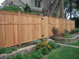 Enclosed Backyard Minneapolis Wooden Fence Gates Landscape Farmhouse With Gate