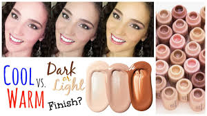 choosing a lshade how to find the right foundation shade beginner on a budget youtube