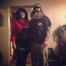couples halloween costume idea duck dynasty ms kay and phil