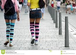 girls in knee socks royalty free stock photos image 3177088