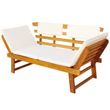 Acacia Wood Outdoor Furniture Durability by Wood Outdoor Sun Deck Garden Bench Acacia Wood Lovdock Com