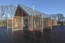 Modern Barn House Floor Plans Barn House Eelde By Kwint Architects