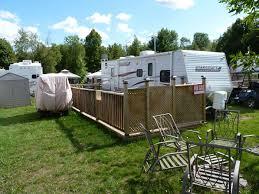 Trailer Sunrooms Sunrooms And Decks Ontario Canada Campground