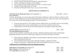 Banking Resume Template Sample Personal Banker Resume Executive Resume Example Banker