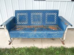history of old metal porch glider u2014 porch and landscape ideas