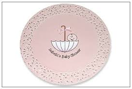 baby shower autograph plate umbrella baby shower signature platter serendipity crafts