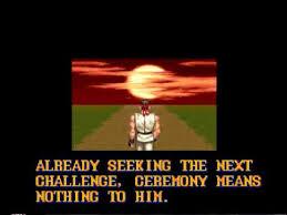 Seeking Ending Fighter 2 1992 Snes Ryu Ending