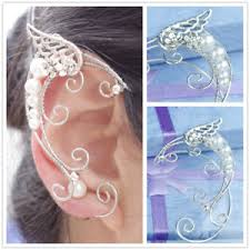 s ear cuffs 1 pair elven ear cuffs filigree fairy ear cuffs