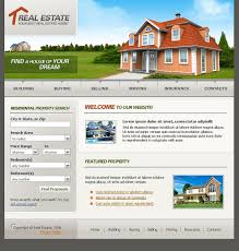 real estate agency swish template 17397