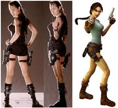 Lara Croft Tomb Raider Halloween Costume Creepy Circus Decorations Scary Circus Decorations Circus Horrors