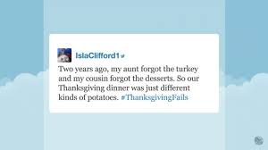 tonight show viewers their funniest thanksgiving fails