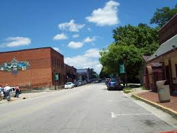 thriving small town charm main street where to find raleigh