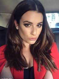 judge jeanine haircut lea michele reveals new haircut on twitter adding the caption