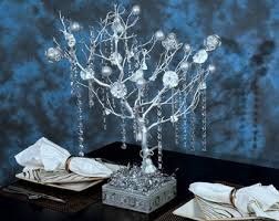 Christmas Tree Centerpieces Wedding by White Wedding Manzanita Tree Centerpieces White Christmas