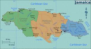 Caribbean Sea On Map by File Jamaica Regions Map Png Wikimedia Commons