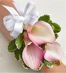 calla corsage a green thing artisitic designs by pink mini calla corsage