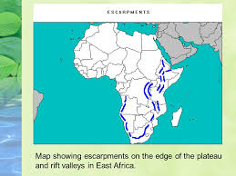 africa map landforms sub saharan africa physical geography landforms africa is a large
