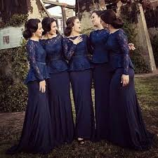 navy blue wedding dress navy blue bridesmaid dresses 2017 strapless lace sleeve