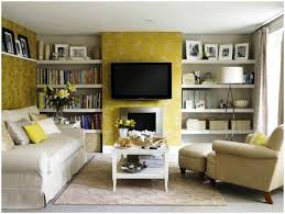 modern apartment living room with tv small ideas fireplace and