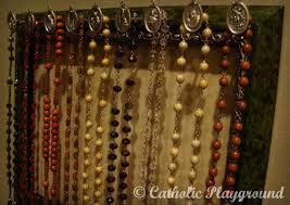rosary holder rosary holder catholic playground