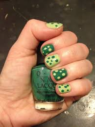 the beauty of life almost st patrick u0027s day nail art polka