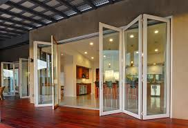 Folding Doors Patio La Cantina Doors Patio Contemporary With Aluminum Doors Bi Folding
