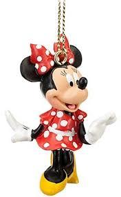wdw miniature ornament set 4 pc mickey minnie tink castle