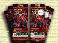 spiderman birthday invitations free printable spiderman