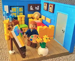 vincent van gogh bedroom lego ideas vincent van gogh