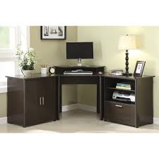 Solid Wood Corner Desk Black Solid Wood Corner Desk For Office Furniture Having Storage F