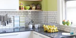 kitchen backsplash ideas for black granite countertops stylish backsplash pairings better homes gardens