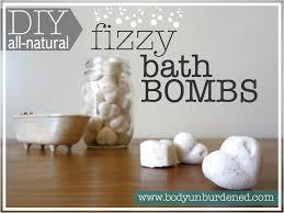 diy all fizzy bath bombs unburdened