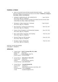 Resume For Nursing Position Cv Haad Rn