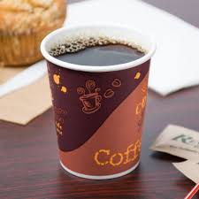 choice 8 oz coffee print poly paper cup 1000 case