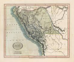 Cary Map Maps Of South America
