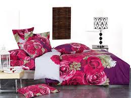 Roses Duvet Cover Pink U0026 Purple Rose Print Duvet Cover Full Queen Designer