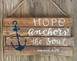 Anchor For The Soul Etsy - hope anchors my soul etsy