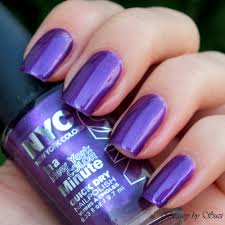 nyc in a new york color minute quick dry nail polish choose ur