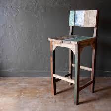 boat wood bar table stool buy woodreclaimed regarding amazing
