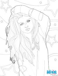 selena gomez coloring pages and creativemove me