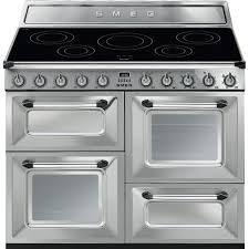 Smeg Induction Cooktops Buy Smeg Victoria 110 Stainless Steel Electric Induction Range