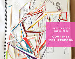 sketchbook sneak peek courtney wotherspoon u2013 design sponge