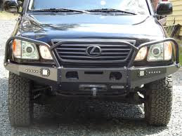 lexus lx470 black grill powder coat match for the oe bumpers ih8mud forum