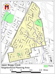 Austin Area Map by Upper Boggy Creek Neighborhood Plan Contact Team Cherrywood